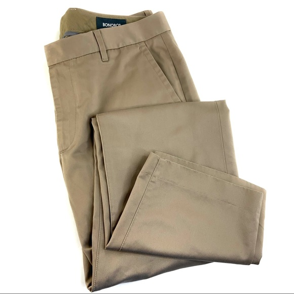 Bonobos Other - 33x32 Bonobos Wednesday Khaki Trousers in Slim Fit
